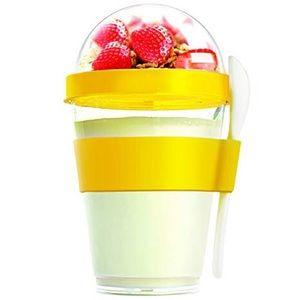 Yo2Go Reusable Yogurt Container W/ Spoon 12oz